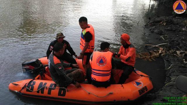 1 Santri Darul Mustofa Yosowilangun Tewas Tenggelam di Sungai Bondoyudo