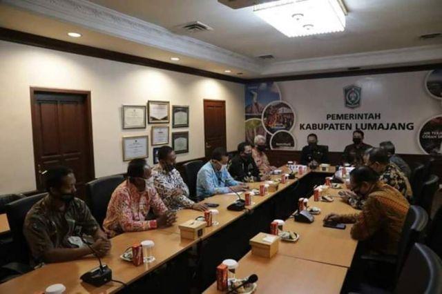 Kepala BPS Jatim Silaturrahim ke Pemkab Lumajang