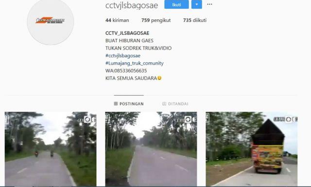 Video Challenge Mobil Oleng Lumajang Banyak di Instagram