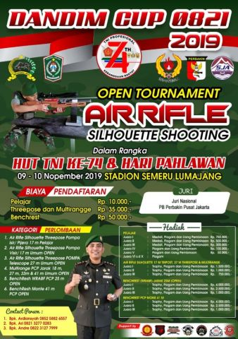 Kodim 0821 Lumajang Gelar Open Tournament Dandim Cup, Yuk Buruan Daftar..!