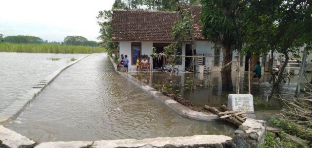Banjir Luapan Sungai Tandak Darungan Lumajang Makin Parah
