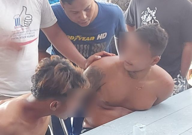 2 Remaja Curi Motor di Dawuhan Lor Lumajang Nyaris Babak Belur