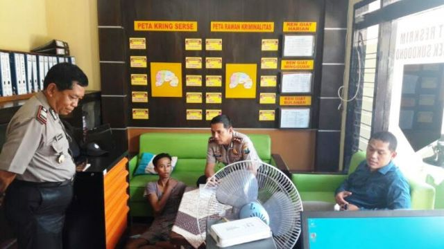 Diduga Hendak Mencuri, Pemuda Asal Tanggul Diamuk Warga Dawuhan Lor