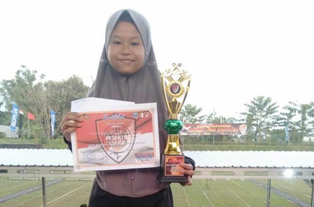 Dea Atlet RSC Lumajang Juara 1 Pelajar Pangdivif 2 Kostrad Malang