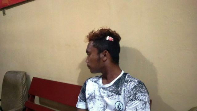 Rebutan Janda Tahes, Pemuda Nguter Dibacok Dipinggir Jalan Jarit