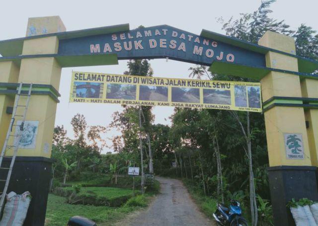 Selamat Datang di Wisata Krikil Sewu Desa Mojo Kecamatan Padang
