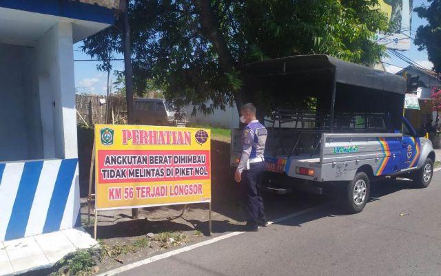 Dishub Himbau Angkutan Berat Tak Lewat Jalur Piket Nol Lumajang