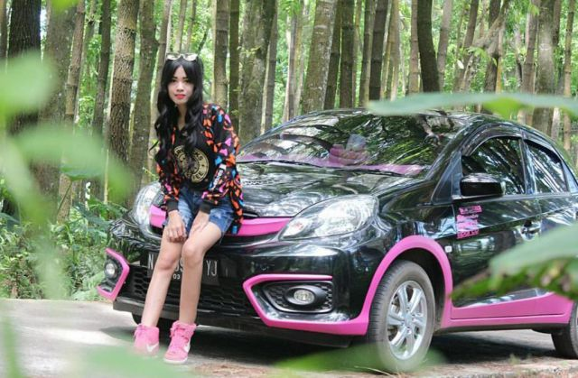 Diska Ginem Srikandi Cantik Drag Race Cuti Balapan