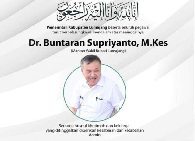 Dokter Baik Hati Mantan Wakil Bupati Lumajang dr. Buntaran Berpulang