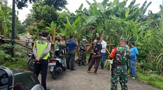 Desa Duren Lumajang Mulai Terapkan Karantina Lokal Cegah Covid 19