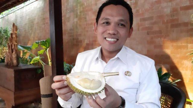 Cak Thoriq : Durian Mini Asli Wonolopo Lumajang Bikin Ngiler