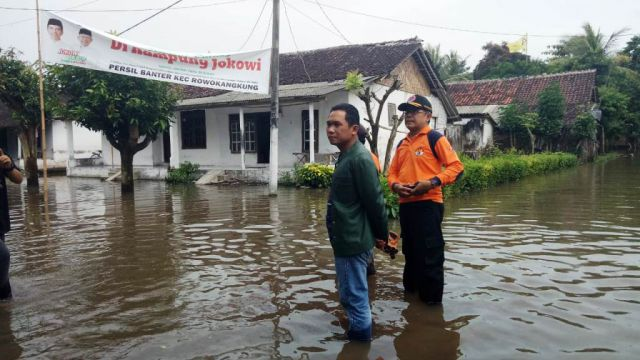 Sungai Meluap, Dusun Banter Rowokangkung Tergenang Banjir