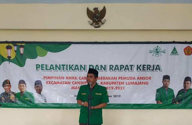 Ansor Lumajang Dukung AKBP Arsal Sahban Berantas Bisnis Q-Net