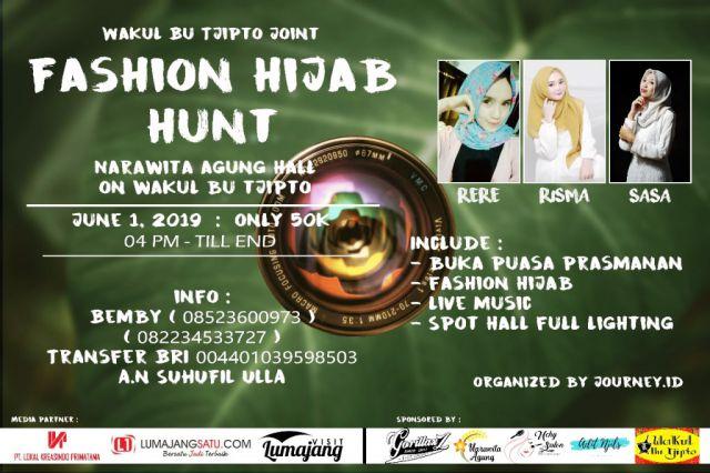 Yuk..! Ikut Fashion Hijab Hunt, Modelnya Cantik-cantik Lo