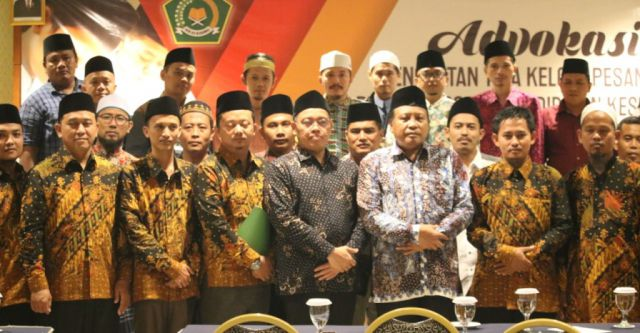 Pengurus Nasional Forum Komunikasi Pendidikan Kesetaraan Pesantren Salafiyah Dikukuhkan
