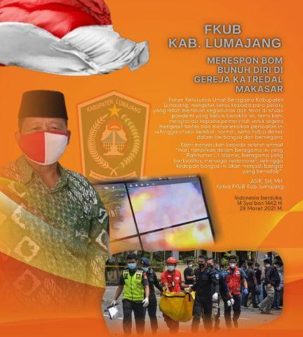 FKUB Lumajang Kutuk Aksi Teror Bom Makassar