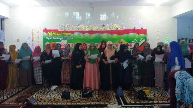 Forum Silaturrahim Ibu Nyai se-Tapal Kuda Tolak Aksi People Power