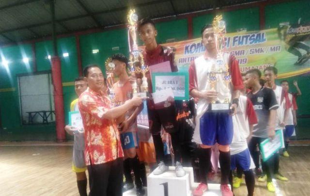 MAN Lumajang Jaura Pertama Kompetisi Futsal Dispora 2019