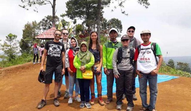 Gunung Wayang Semakin Diminati Wisatawan Asing
