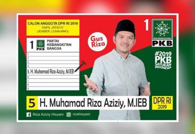 Gus Riza Caleg DPR RI Siap Emban Amanah Warga Lumajang-Jember