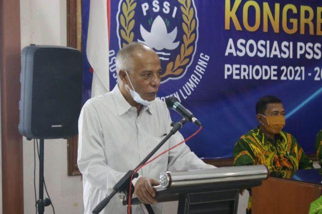 H. Thoriq Aklamasi Terpilih Ketua Askab PSSI Lumajang