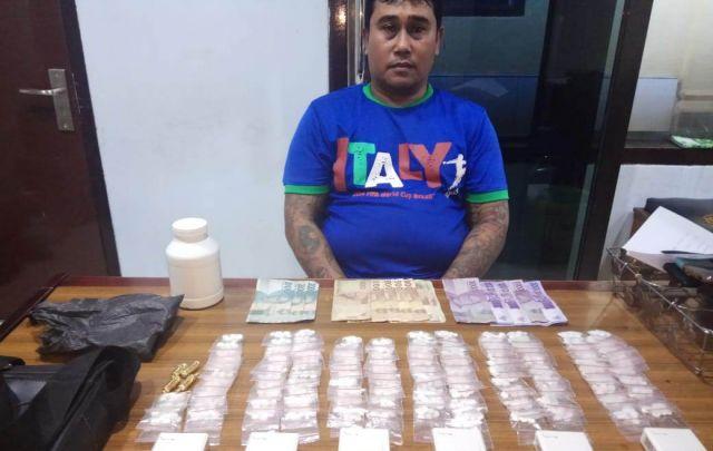 Jualan Pil Anjing Hariyanto Purwosono Diborgol Polisi