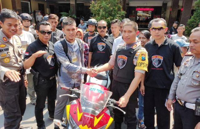 Tim Cobra Akan Buru Penadah Honda CBR 250 Hasil Razia di Desa Kalidilem