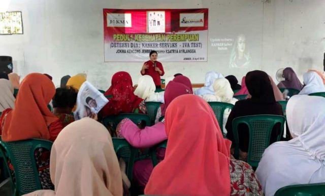 Bersama Relawan JOKMA, Hari Putri Lestari Gelar Penyuluhan Kanker Serviks