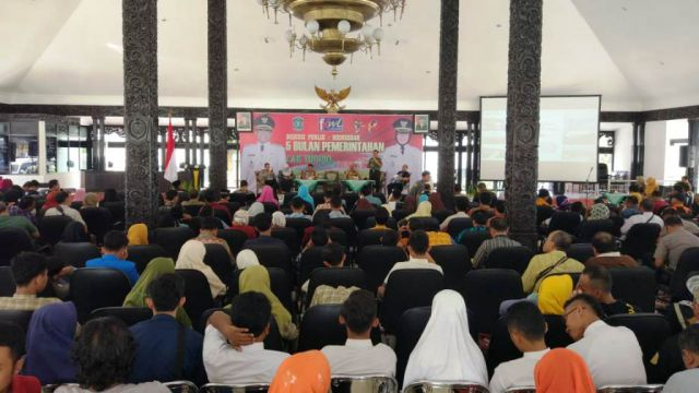 Perbup Pelimpahan Kewenangan Bupati Lumajang Kagetkan Peserta Dialog Publik