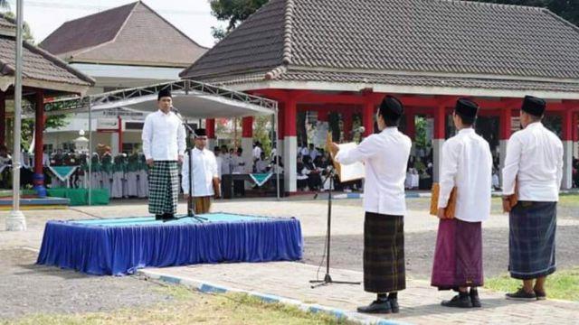 Upacara HSN di Lumajang, Cak Thoriq : Terima Kasih Pak Jokowi