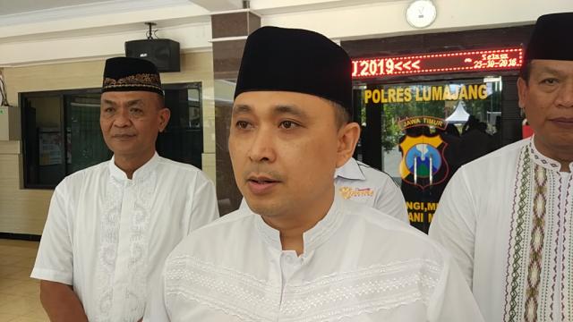 Kapolres Lumajang AKBP Rachmad Iswan Nusi SIK Ajak Santri Ikut Perangi Hoax