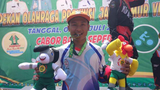 Ananda Ifan Atlet Sepeda BMX Sumbangkan Emas Bagi Lumajang