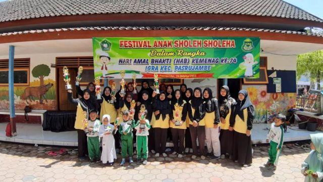 IGRA Pasrujambe Gelar Festival Anak Sholeh dan Sholeha