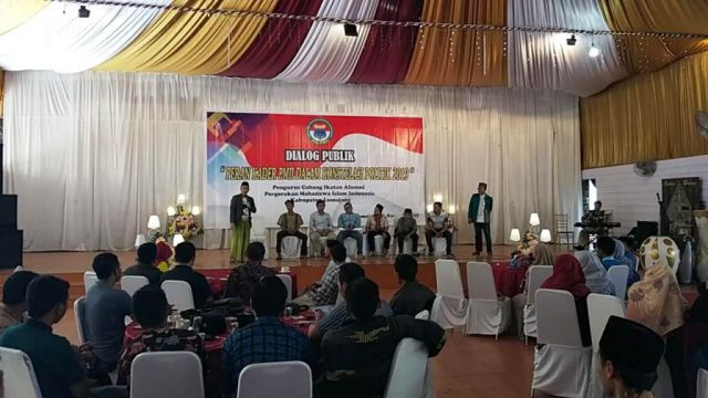 IKA-PMII Lumajang Gelar Dialog Publik Sambut Pesta Politik 2019