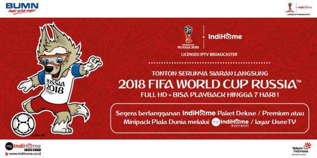 IndiHome Siarkan Piala Dunia, Ayo..! Buruan Pasang Baru