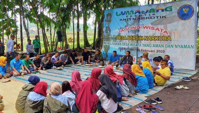 Journalist Camp di Tirtosari View Lumajang Dikemas Jagong Wisata