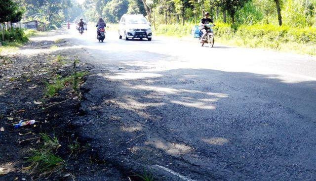 Jelang Mudik 2017, Jalur Nasional di Lumajang Masih Banyak Rusak