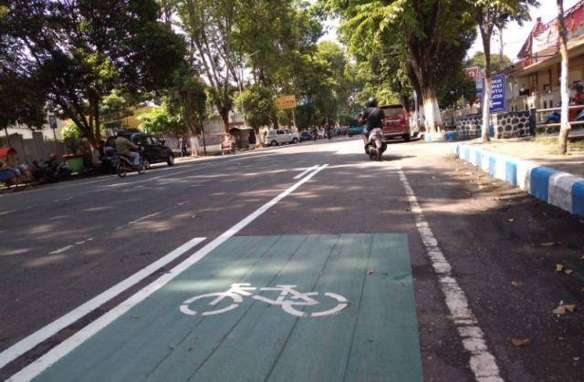 Dishub Lumajang Siapkan Jalur Khusus Sepeda Ontel