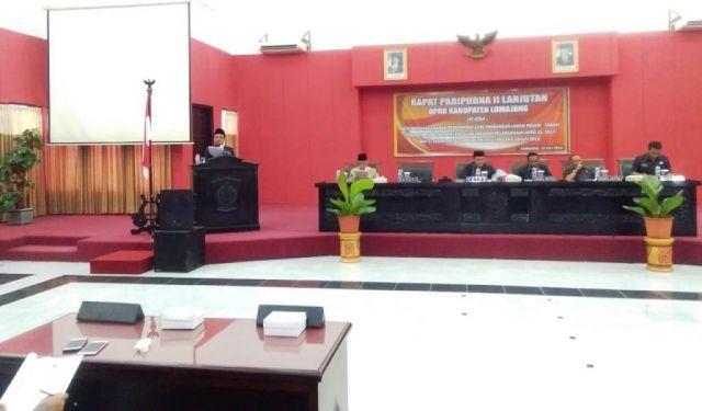 Bupati As'at Malik Sampaikan Jawaban Pemerintah atas PU Fraksi DPRD