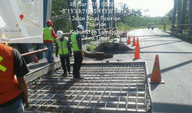 Hari Jum'at Besok, Jembatan Kalipancing Pasirian Ditutup 8 Jam