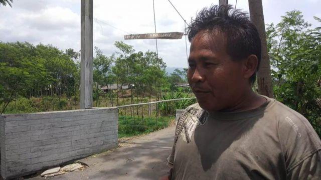 Jembatan Layang Alternatif Desa Kebonagung-Dawuhan Lor Rusak
