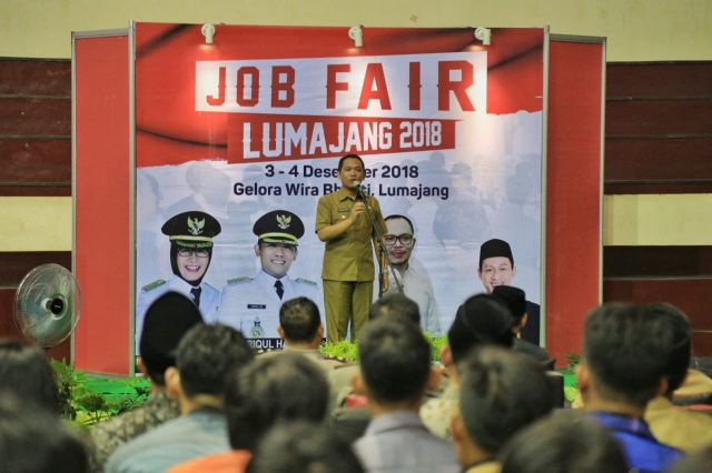 Bupati Buka Job Fair 2018