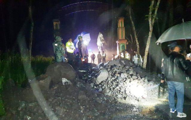 Jugosari Blokade Total, Jarit Hanya Tutup Untuk Angkutan Tambang Pasir