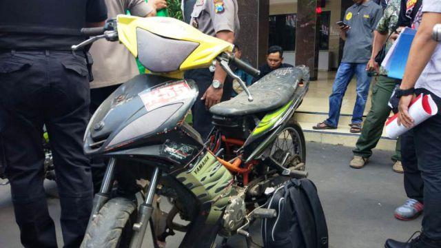 Hasil Razia di Kalidilem Ternyata Sepeda Motor Jupiter MX Hilang 2010