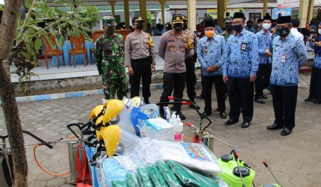 AKBP Deddy Launching Kampung Tangguh Semeru di Pasirian Lumajang