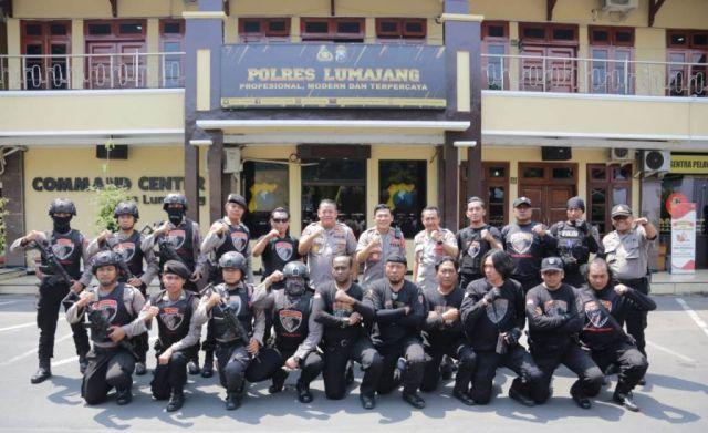 Kapolda Jatim Beri Semangat Tim Cobra Lumajang Berantas Kejahatan