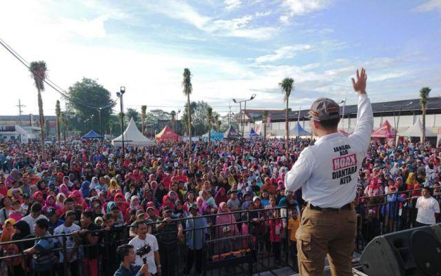 Gandeng Banyak Pihak, Polres Lumajang Sosialisasi Millennial Road Safety Festival