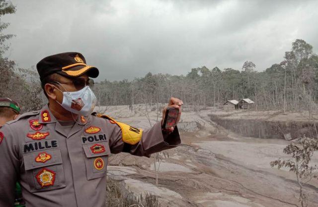Polres Lumajang Terjunkan 70 Anggota Jaga Keamanan Wilayah Terdampak