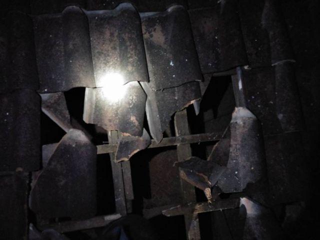 Rumah Warga Karanglo Lumajang Dilempar Bondet