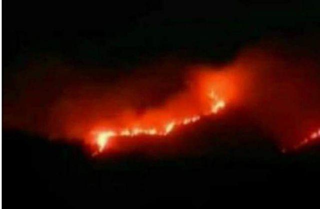 Kerahkan 48 Petugas, Api Masih Berkobar di Lereng Semeru